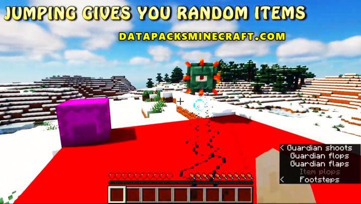 Jumping Give Random Items 1.16.5