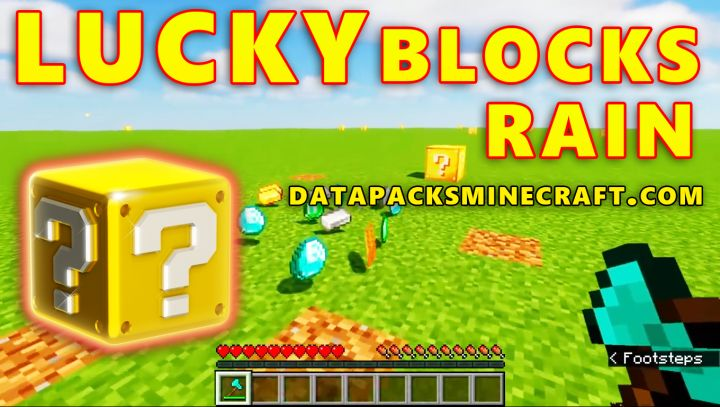 LuckyBlocks Rain Data Pack 1.17.1