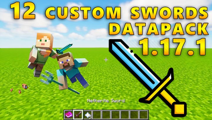 12 Custom Swords 1.17.1