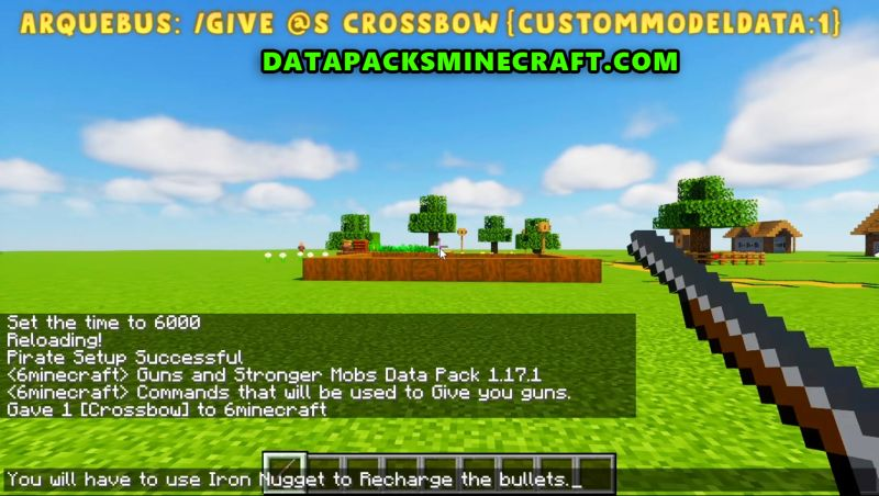 Guns and Stronger Mobs Data Pack 1.15.2