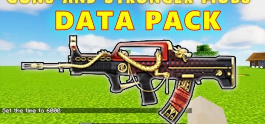 Guns and Stronger Mobs Data Pack 1.17.1