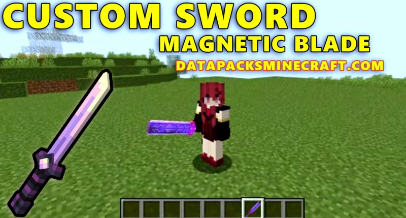 Custom Sword Magnetic Blade 1.18