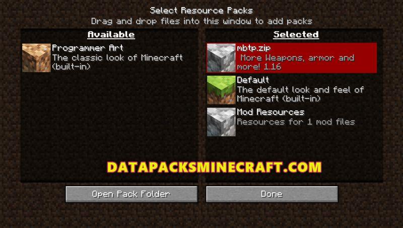 Custom Sword Magnetic Blade Data Pack 1.17