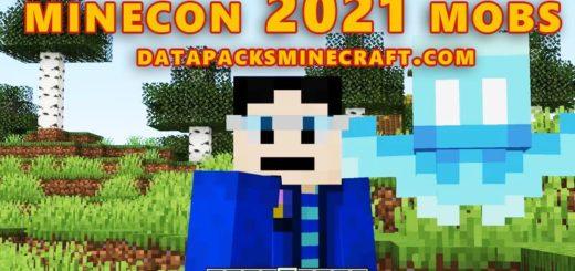 Minecon 2021 Mobs 1.18